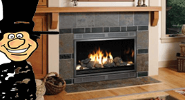 Top Gas fireplaces sales and installation from Luce's Chimney & Stove Shop.