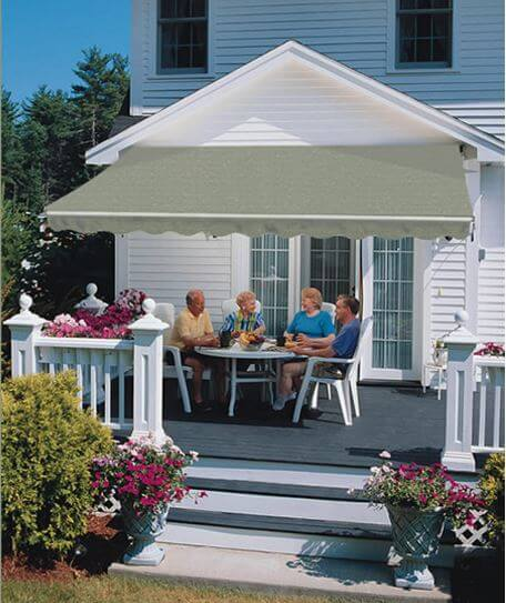 Sunsetter Retractable Awnings, authorized sales & installers at Luce's Chimney and Stove Shop in Swanton, OH.