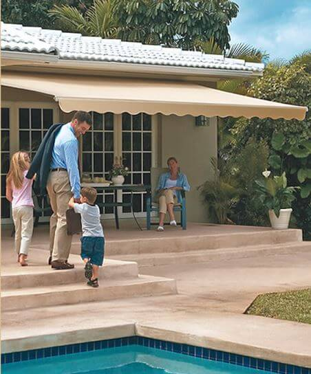 Luce's Chimney & Stove Shop is an authorized SunSetter Retractable Awning dealer for sales and installation.