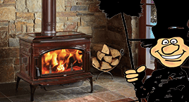 Toledo's largest selection of wood burners. Wood burning stove showroom at Luce's Chimney & Stove Shop.